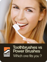 Toothbrushes vs Power Brushes